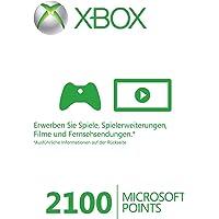 Xbox 360 - Live Points Card 2100 [Importación alemana]