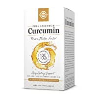 Solgar Full Spectrum Curcumin Liquid Extract Softgels - 90 Count - Faster Absorption - Brain, Joint & Immune Health - Non-GMO, Gluten-Free, Dairy-Free, Soy-Free - 90 Servings