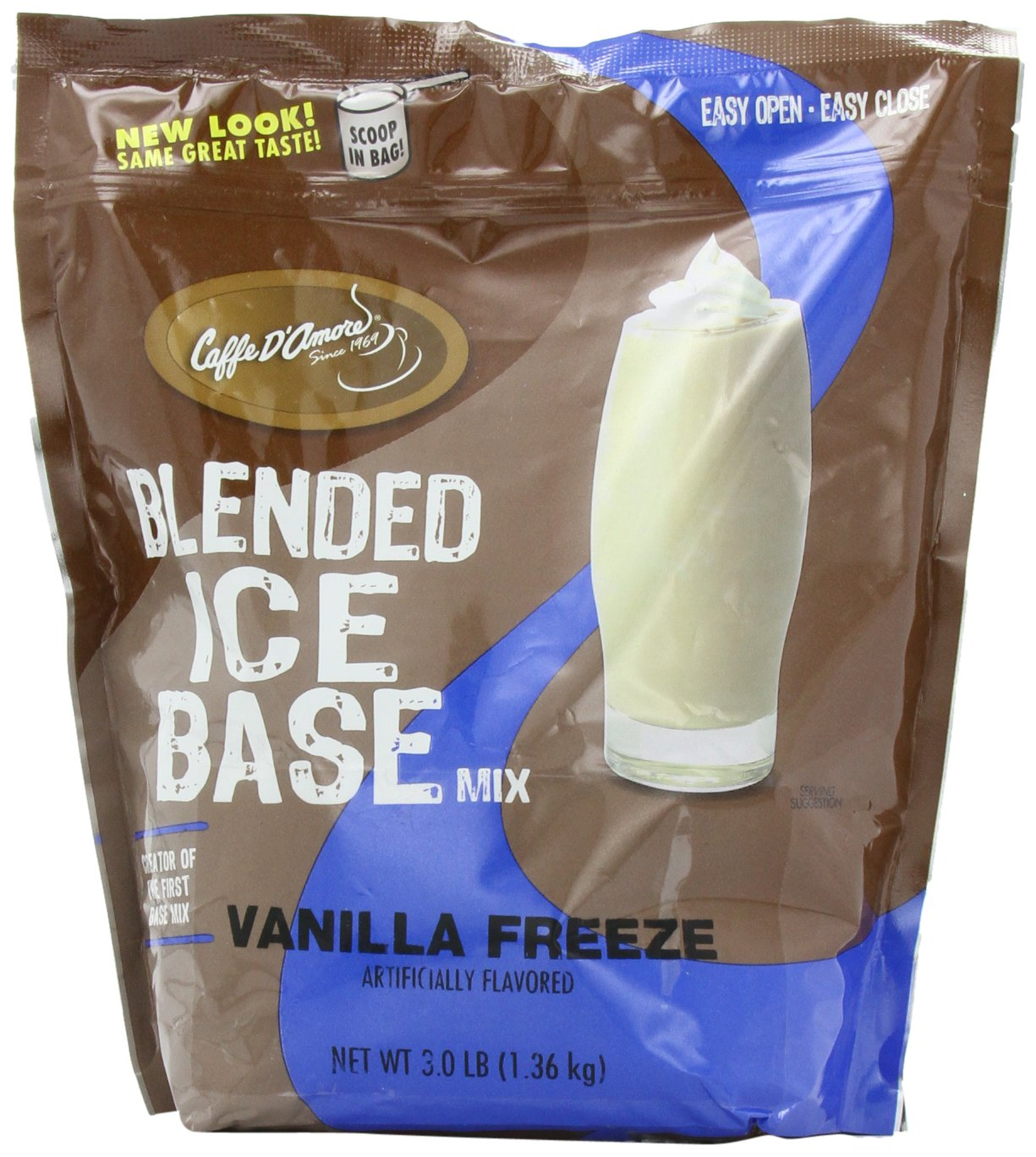 DaVinci Gourmet Vanilla Freeze Blended Drink Mix, 3 Pounds