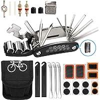 Fiets Reparatie Tool Kit Punctie Kits voor Fietsen Mountainbike Accessoires voor Mannen 16 in 1 Multifunctionele Tool…
