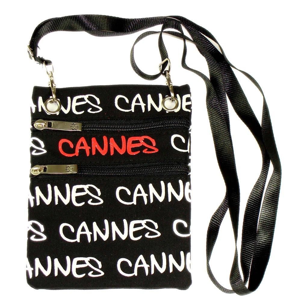 Black Cannes Robin Ruth Passport Bag