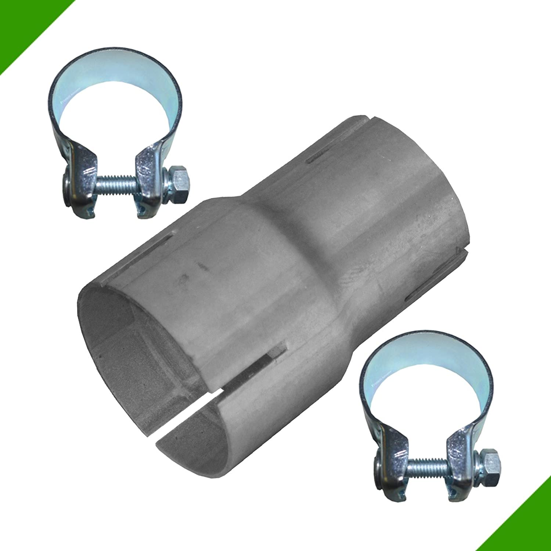 /Échappement Tube R/éducteur 50/mm sur 60/mm Adaptateur Ruban Acier Menottes