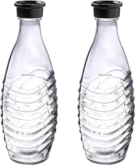 Ersatzflaschen geeignet für die SodaStream SodaStream DuoPack Glaskaraffe