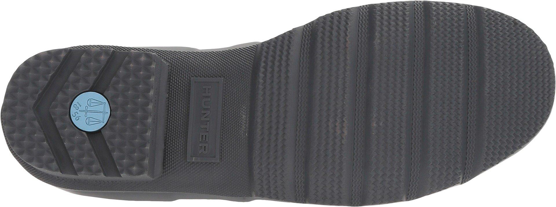 Hunter Men's Original Short Rain Boots Dark Slate 10 M US