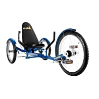 Mobo Triton Pro Adult Tricycle for Men & Women. Beach Cruiser Trike. Pedal 3