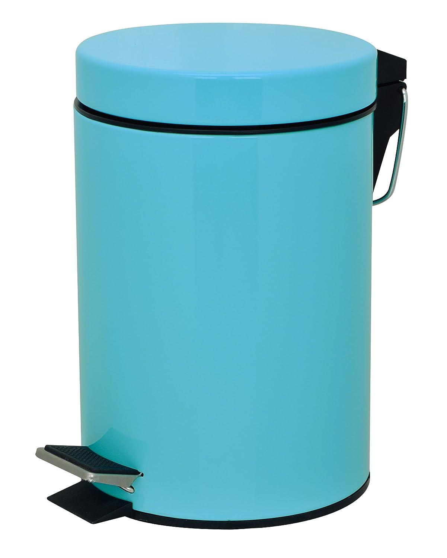 Brights Bathroom Pedal Bin, 3 L, Blue: Amazon.co.uk: Kitchen & Home