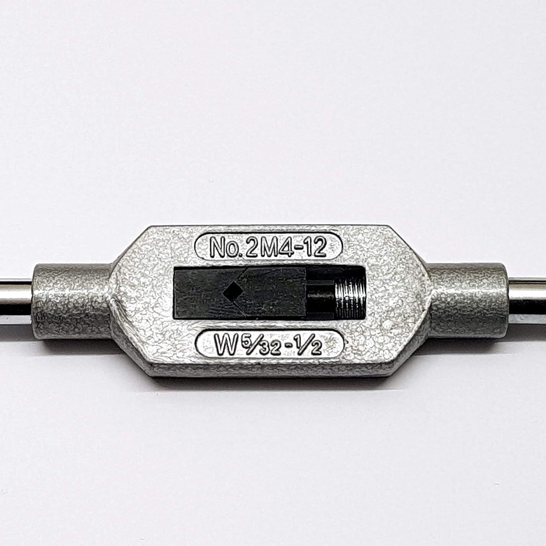 Gr.0 = M1 - M8 Windeisen Verstellbar f/ür Gewindebohrer Werkzeughalter Wendeisen