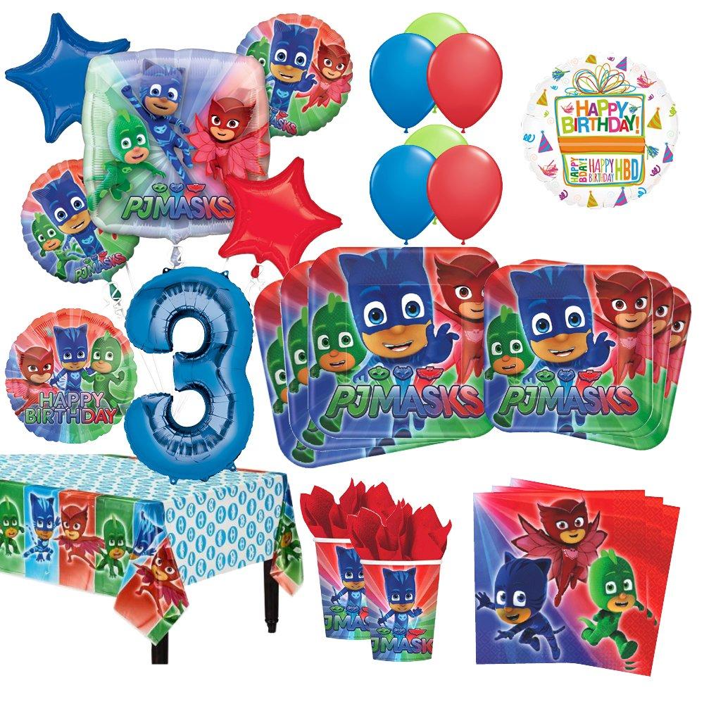 PJ Mask Party Bundles for 8 Guests