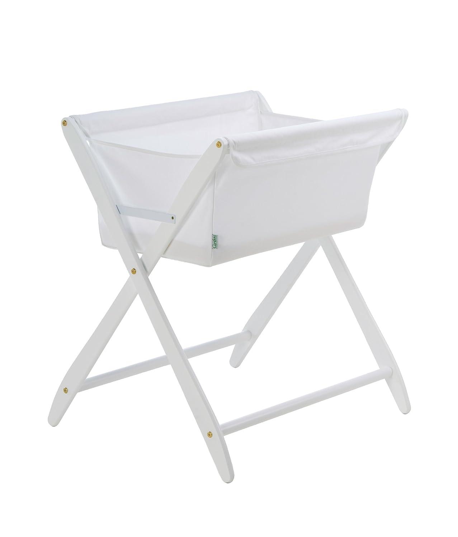amazoncom  cariboo folding bassinet (white)  baby -