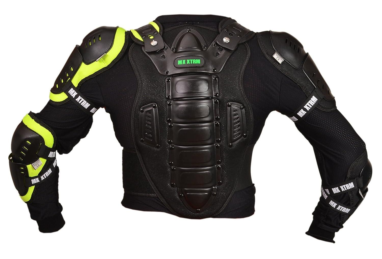 6 ann/ées//S Noir Motos Enfants Armure XTRM Enfant Corps Armor Vest Nouveau Motocross Quad MX Courses Hors-Piste Professionnel de Protection ATV Sport CE approuver Armure