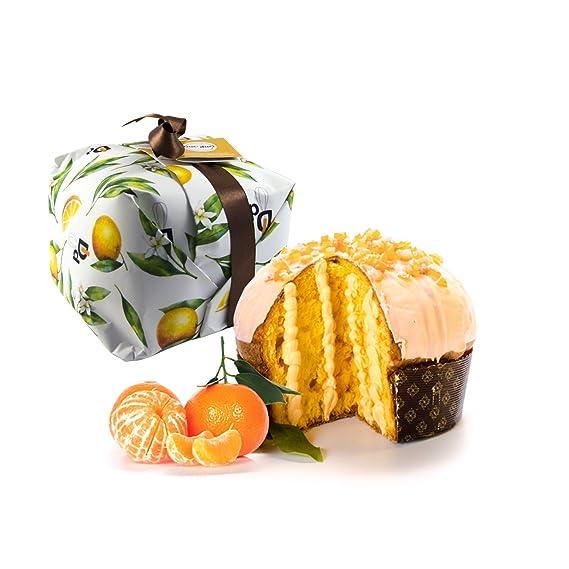 500gr de panettone con crema de mandarina rellena de crema de mandarina - Duci duci -