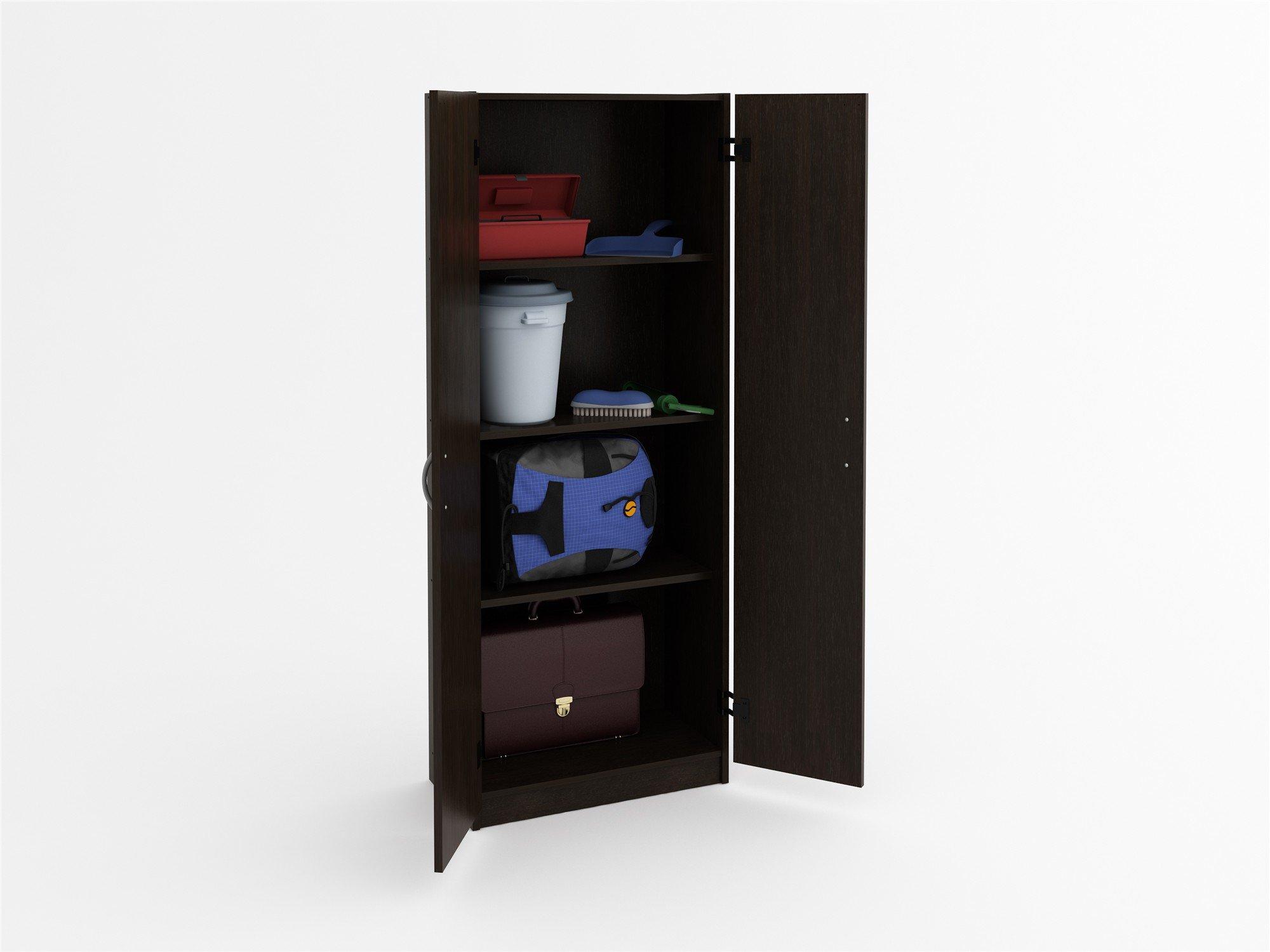 Cabinets Racks Shelves Ameriwood Systembuild Flynn & Ameriwood Storage Cabinet - Listitdallas