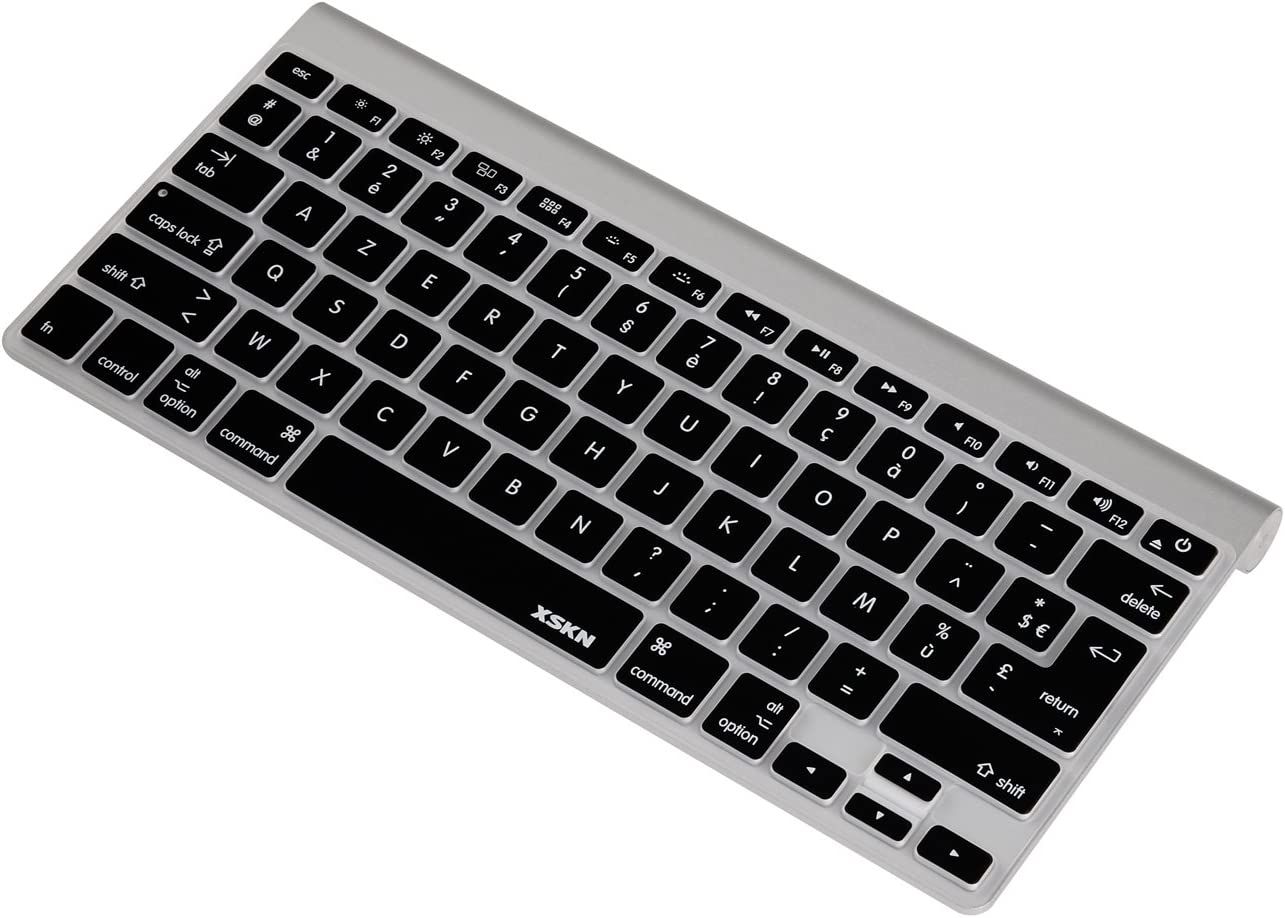 French Language Keyboard Cover Silicone Skin for Macbook Pro 13 15 17 Inch