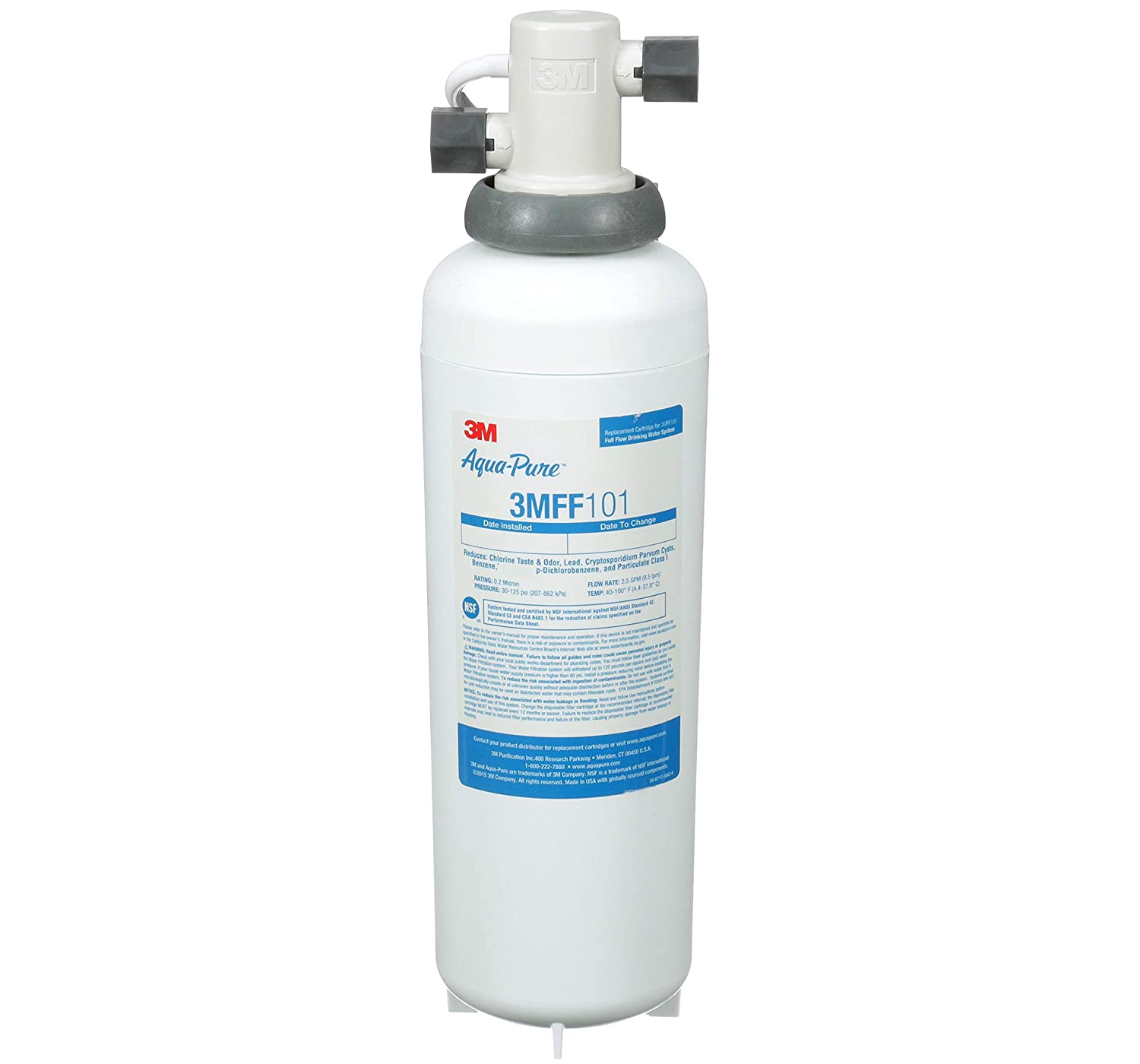 3M Aqua-Pure 3MFF100 Under Sink Water Filter
