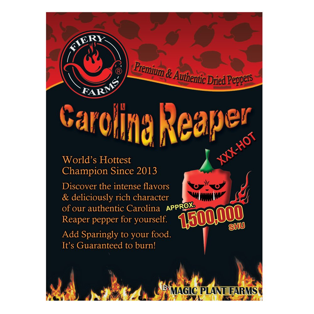 Carolina Reaper Pepper Whole   Extremely Hot Whole Carolina Reaper Peppers (1kg)