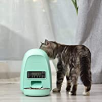 DOGNESS 2L Pet Feeder,Automatic Cat Feeder | Timed Programmable Auto Pet Dog Food Dispenser Feeder for Kitten Puppy…
