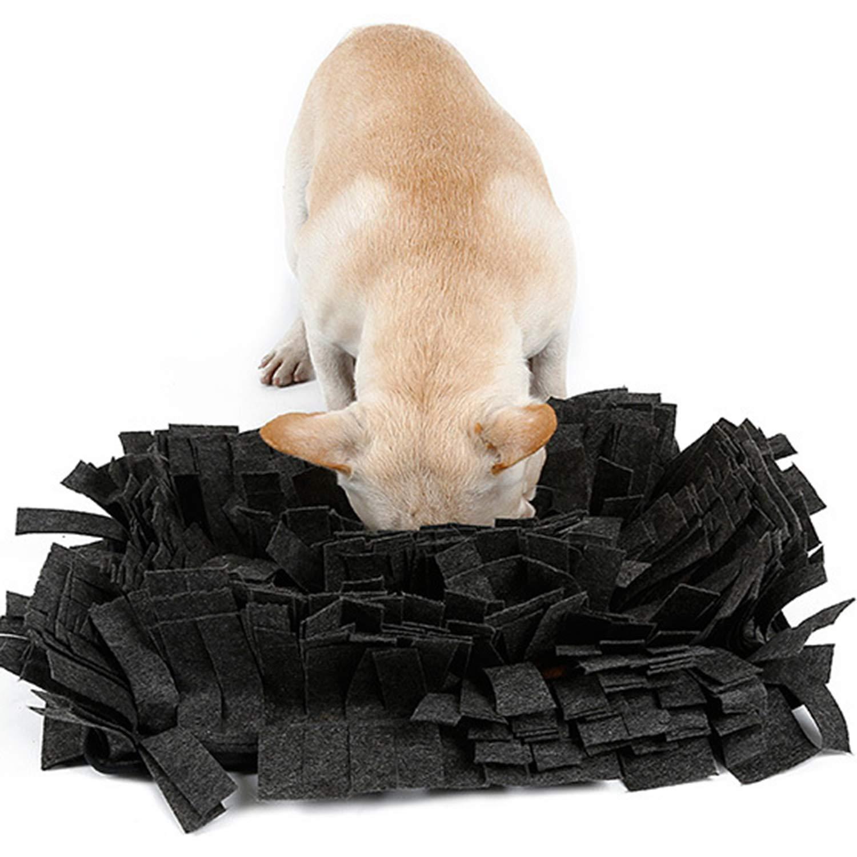 B Dog Nosework Blanket Snuffle Mat Dog Training Mats Feeding Pet Dog Pet Sniffing Mat Multi-Size Washable Training Blanket
