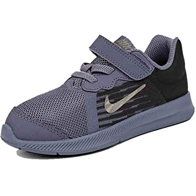 san francisco cb7d5 24da9 Nike Downshifter 8 (TDV) Chaussures de Fitness Mixte Enfant, Multicolore  (Light Carbon