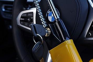 Tierxxl Twin Bar Lock Auto Diebstahlsicherung Lenkradkralle Absperrstange Swtbl Haustier