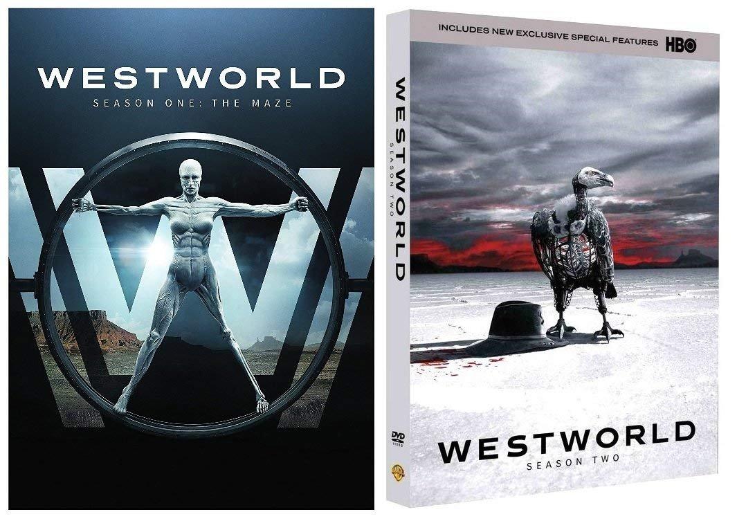Westworld: Complete Series Seasons 1-2 DVD by Mega Media
