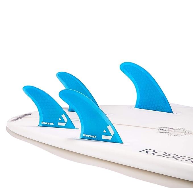 DORSAL® Surfboard Fins Hexcore Quad Set (4) Honeycomb FUT ...