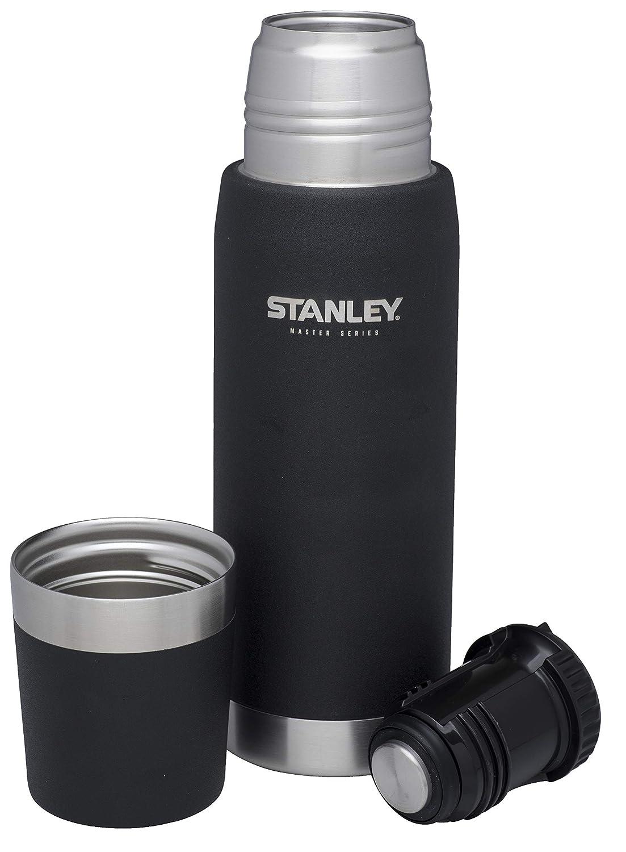 Foundry Black Stanley Master acero inoxidable vac/ío termo botella,, acero inoxidable 0.75 Litre