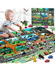 Kaimu Kids Map Taffic Animal Play Mat Baby Road Carpet Home Decor Educational Toy Crib Toys & Attachments