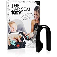 The Car Seat Key - Easy CAR SEAT UNBUCKLE by NAMRA Made in USA (Black)