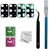 Vimour 2 Pieces OEM Rear Camera Glass Lens Replacement for Samsung Galaxy S20 Plus with Adhesive and Repair Toolkit