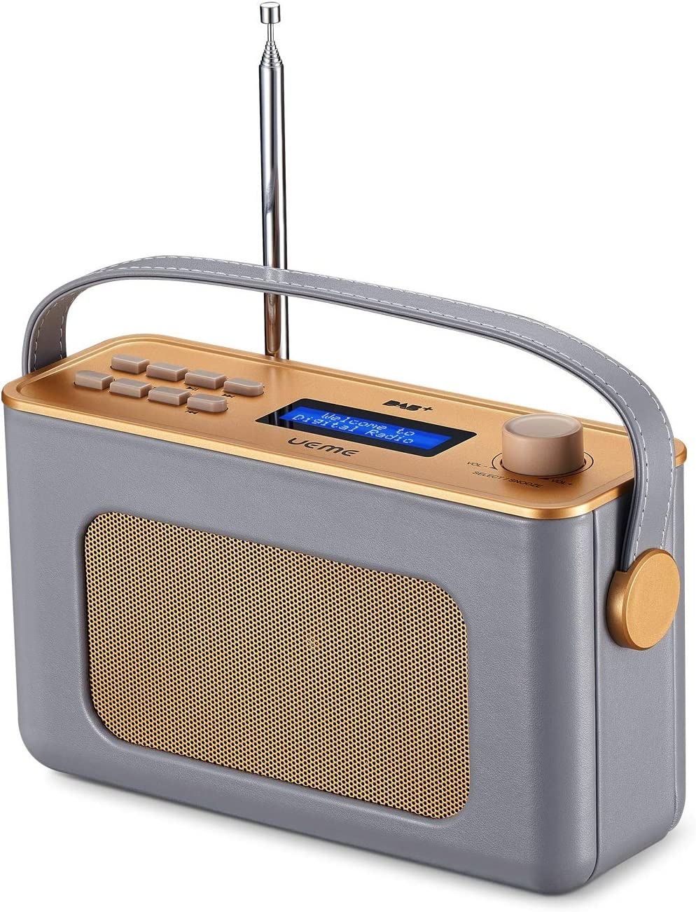 Ueme Retro Digitalradio Mit Bluetooth Dab Dab Ukw Elektronik
