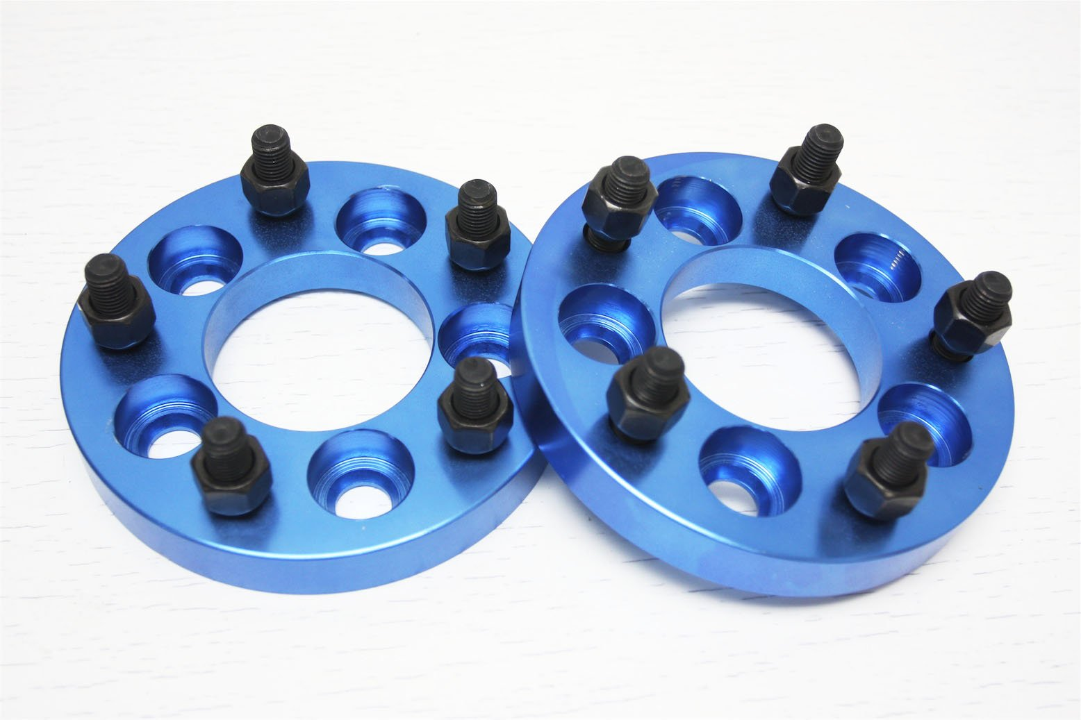 Autobahn88 Alloy Wheel Spacer for BMW with 5x120 Hub, Conversion to 5x4.5'' (5x114.3mm) 5-Lug JDM, Thick 0.8'' (20mm) - Pack of 2