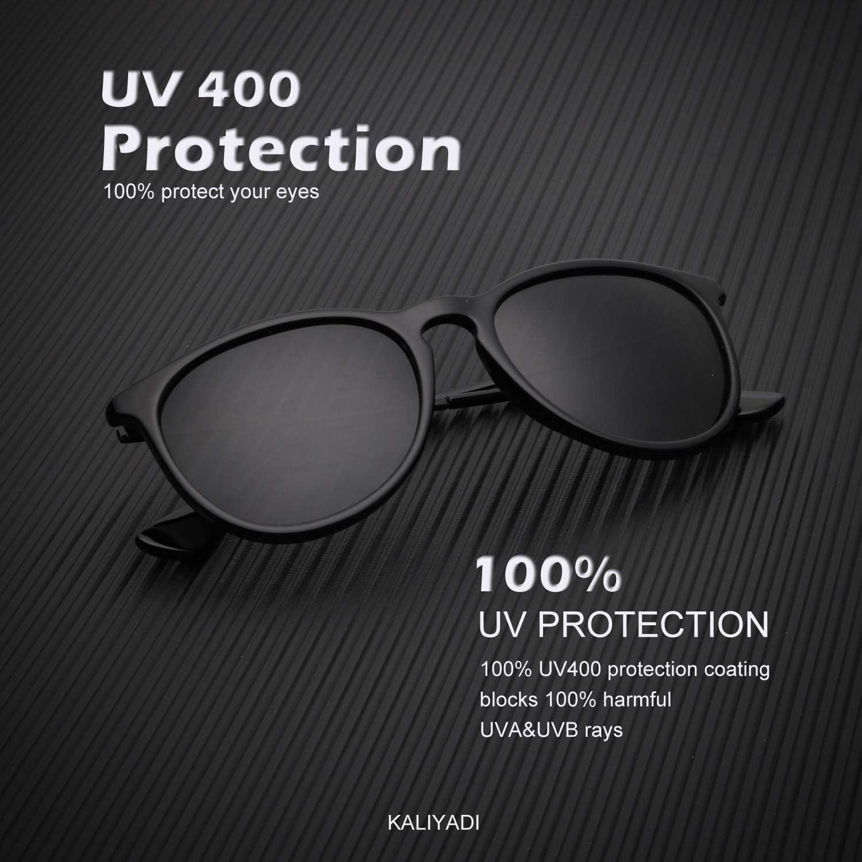 Unisex Polarized Retro Classic Trendy Stylish Sunglasses for Men Women Driving Sun glasses:100/% UV Blocking