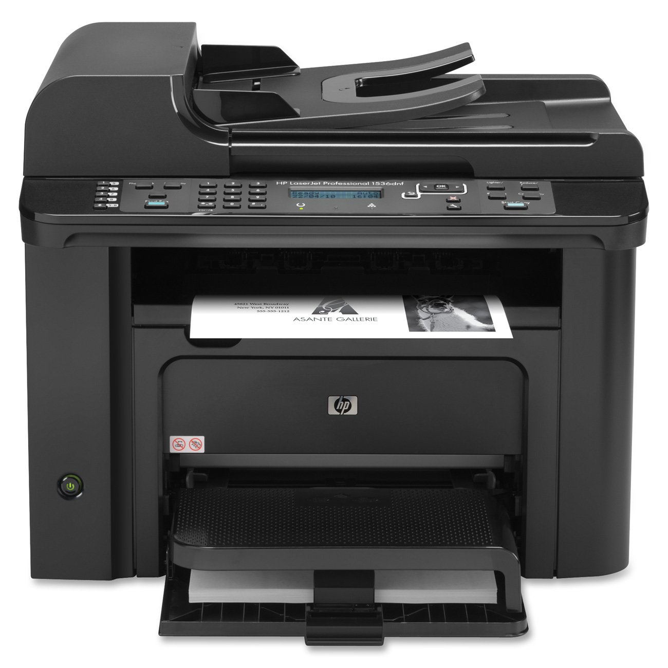 Amazon.com: HP LaserJet Pro M1536dnf Multifunction Printer: Office Products