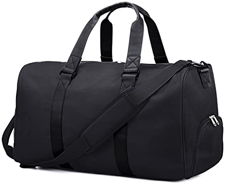 GRM Sports Gym Bag With Shoes Compartment Travel Duffel For Men And Women