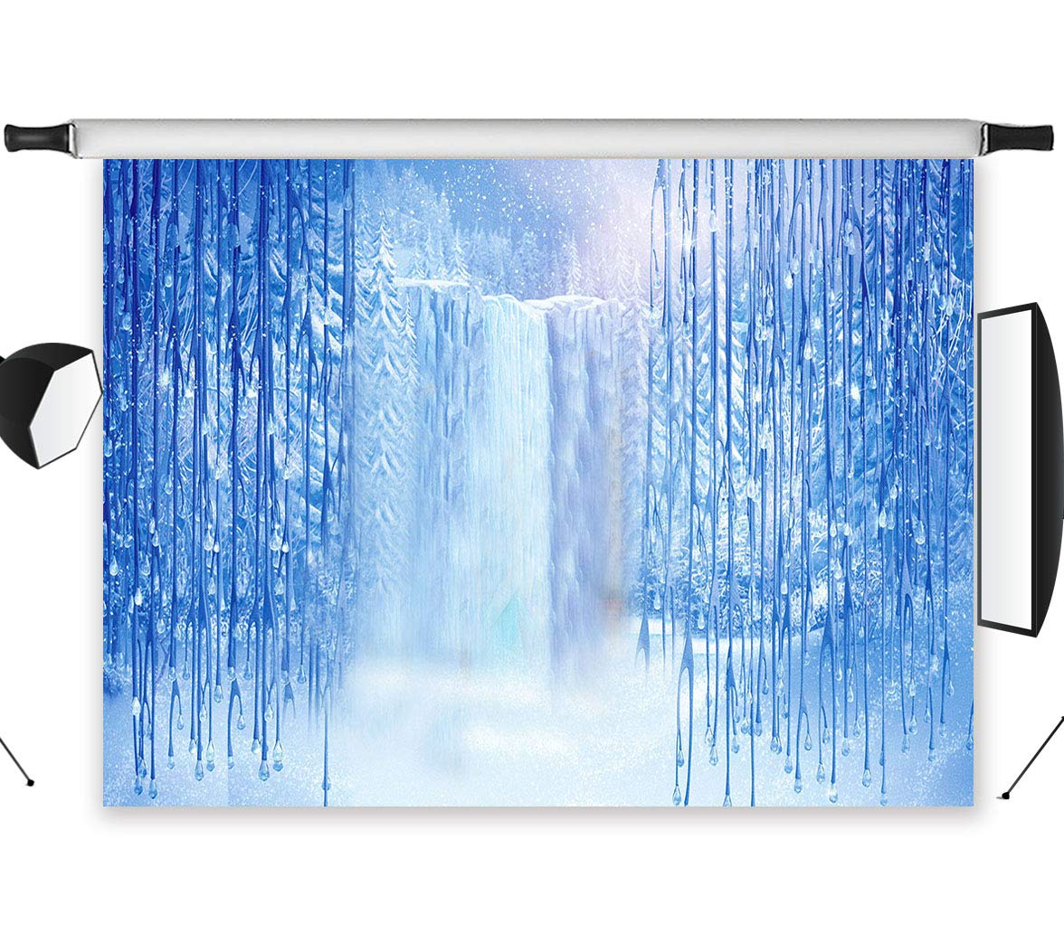 LB 9 x 6ft Waterfall Polyファブリックカスタマイズ写真背景Studio Prop dz477   B00NJNCHS8