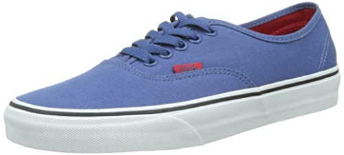 scarpe sportive basse Vans U AUTHENTIC POP DRESS BLU Sneaker unisex adulto
