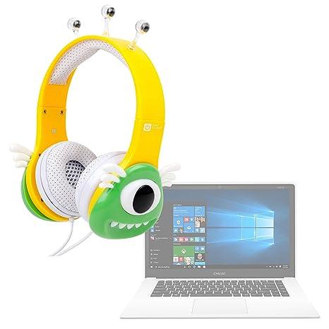 DURAGADGET Auriculares mágicos para niños para Portátil Chuwi LapBook Air/InnJoo LeapBook A100 / Prixton