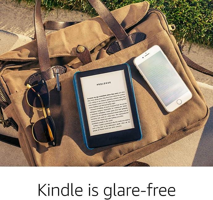 Kindle 全新6″电子阅读器 内置阅读灯 4GB 7.2折$64.99 两色可选 海淘转运到手约¥481