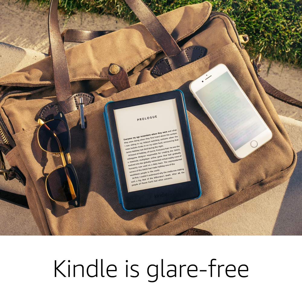 Now with a Built-in Front Light All-new Kindle International Version White