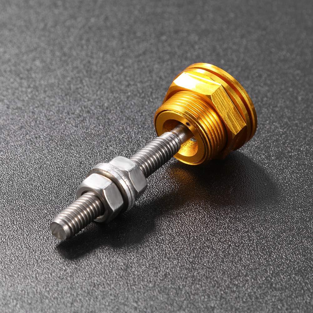 Starnearby Universal 22 mm Push Button cofano cofano Pin Lock Clip Kit Auto a sgancio rapido