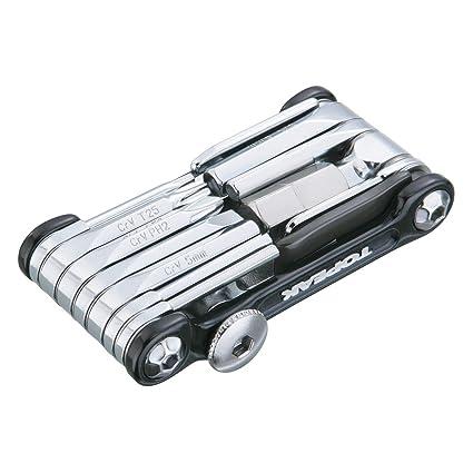 Amazon.com : Topeak Ninja T Mountain Bike Tool black/silver ...
