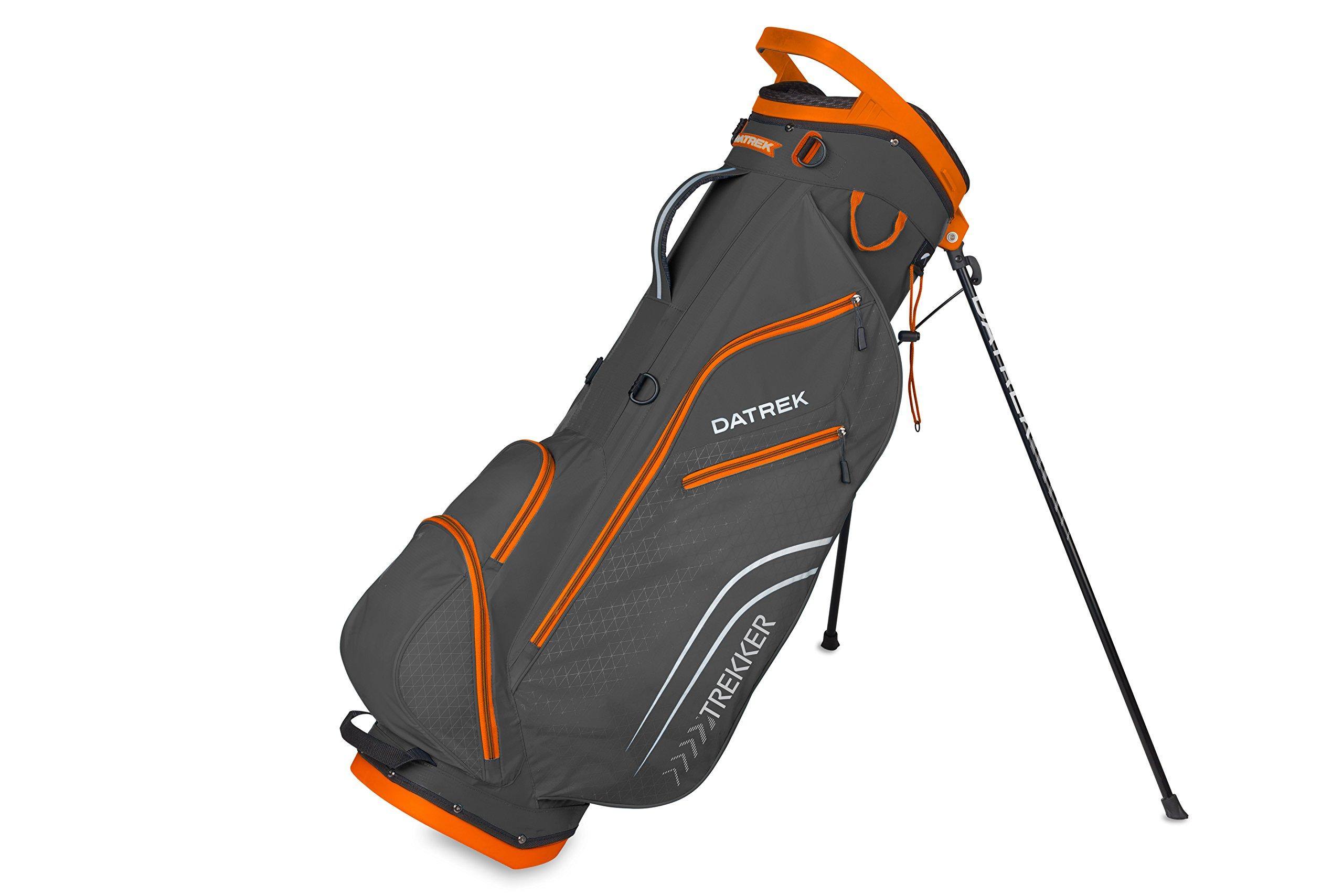 Datrek Golf Trekker Ultra Lite Stand Bag (Charcoal/Orange)