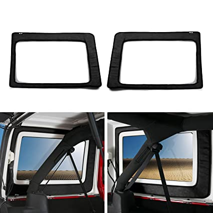 Amazon Com Jecar Black Car Interior Rear Window Heat Insulation