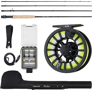 Piscifun Fishing Rod and Reel Combo