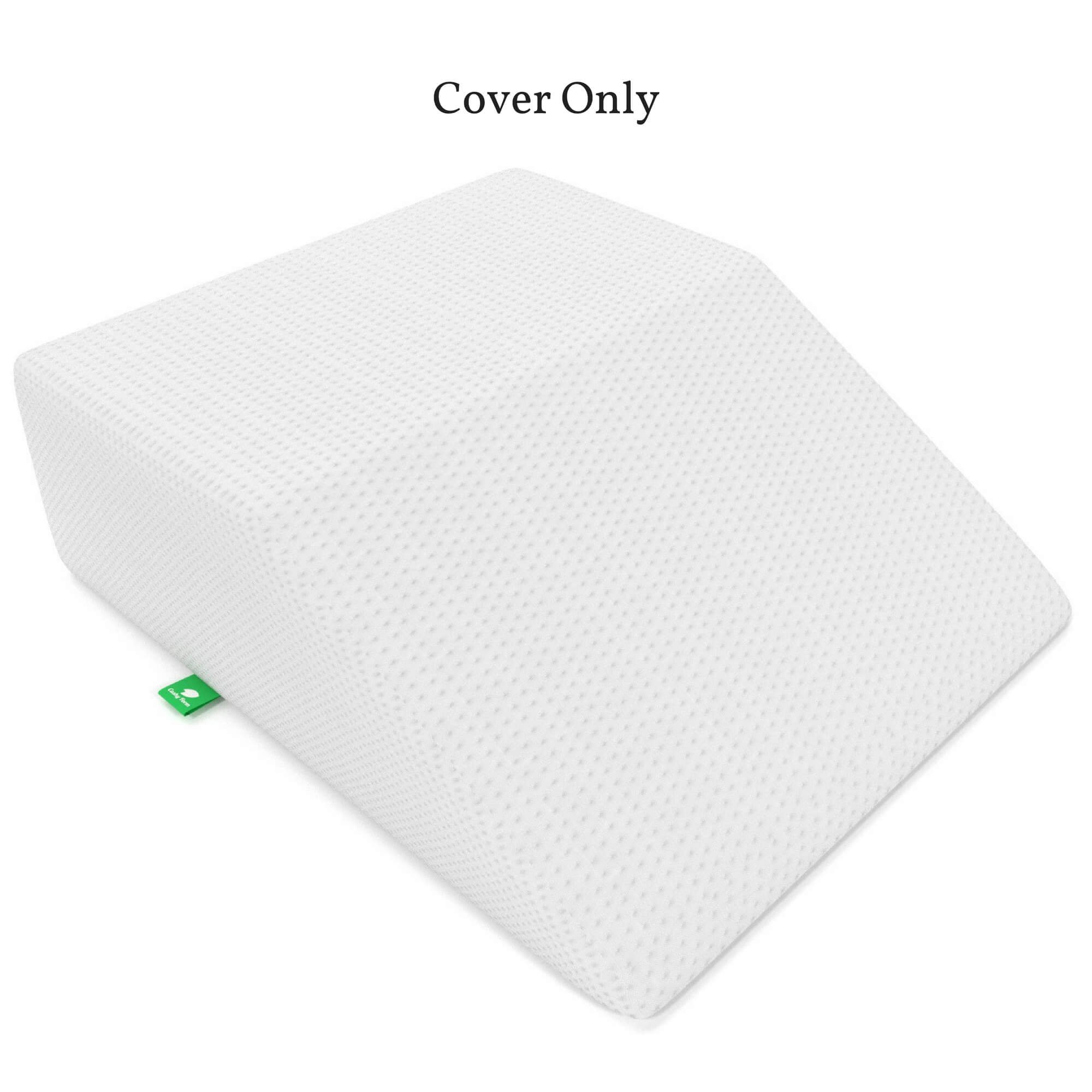 [Replacement Cover] Leg Elevation Pillow Replacement Cover - Fits Cushy Form Leg Wedge - Hypoallergenic, Machine Washable Case (Replacement Cover ONLY)