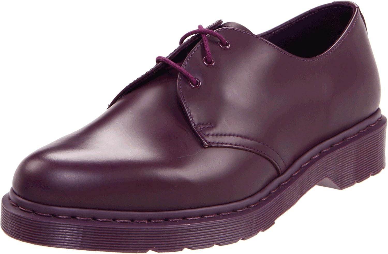 Dr Martens Mens 1461 Mono Oxford Purple 4 M UK//6 M US Dr Martens DS68DMR14343510-UK4