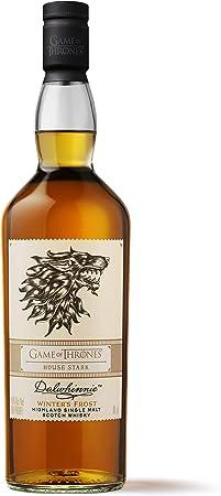 Dalwhinnie Winter's Frost – Whisky escocés puro de malta – Edición limitada Juego de Tronos: Casa Stark – 700 ml