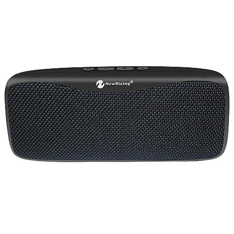 poliking Touch Control inalámbrico Bluetooth V4.2 altavoz estéreo portátil con sonido HD y graves