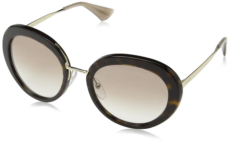 b1e3138db21 ... wholesale amazon prada womens pr 16qs sunglasses havana clear gradient  brown 55mm prada sports outdoors 8d416