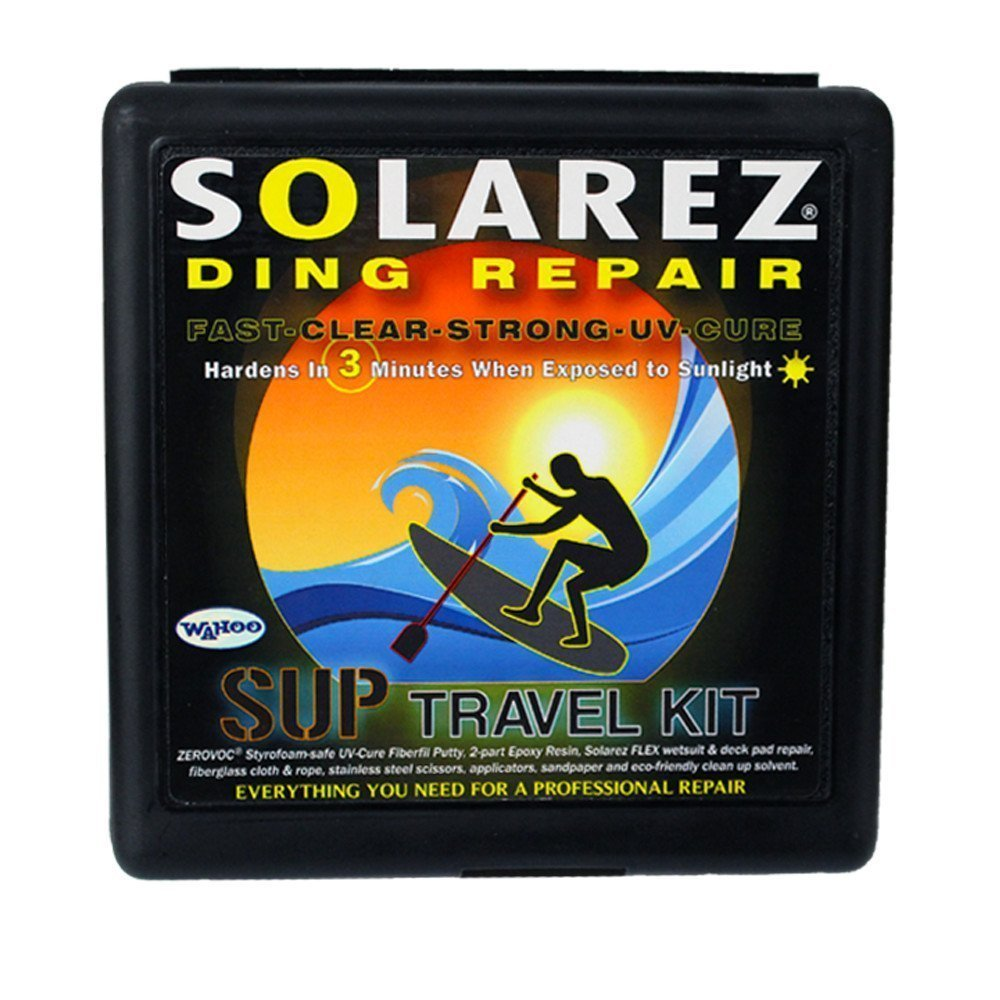 Solarez UV Cure SUP Pro Travel Kit - Epoxy Surfboard Repair Kit